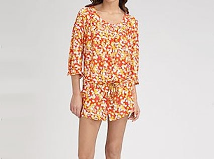 Diane von Furstenberg Blake Silk Cover-Up