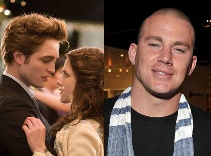 Rob Pattinson, Kristen Stewart, Twilight, Channing Tatum