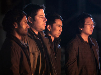 Sendhil Ramamurthy, Greg Grunberg, James Kyson, Masi Oka, Heroes 3.25: An Invisible Thread