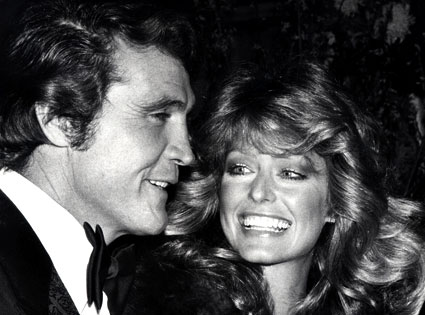 Lee Majors, Farrah Fawcett