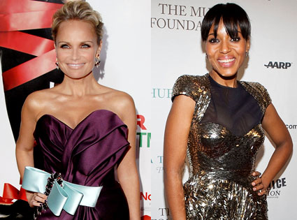 Kristin Chenoweth, Kerry Washington