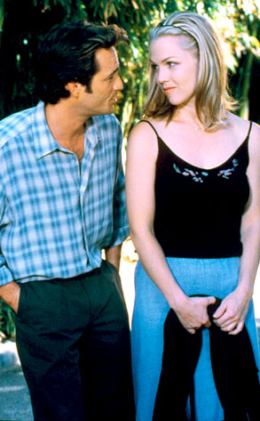 90210, Luke Perry, Jennie Garth