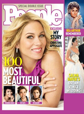 Christina Applegate, People Magazine