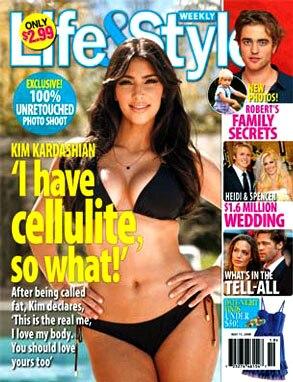 Kim Kardashian, Life & Style Magazine