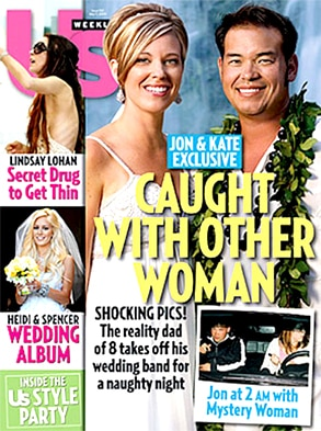 Jon Gosselin, Kate Gosselin, US Weekly Cover