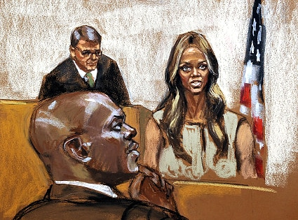 Tyra Banks, Courthouse Sketch