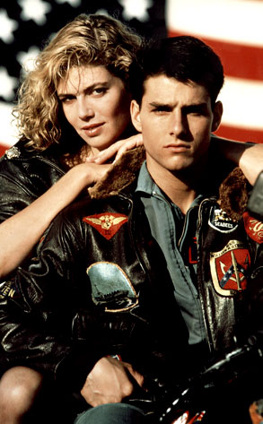 Kelly McGillis, Tom Cruise, Top Gun