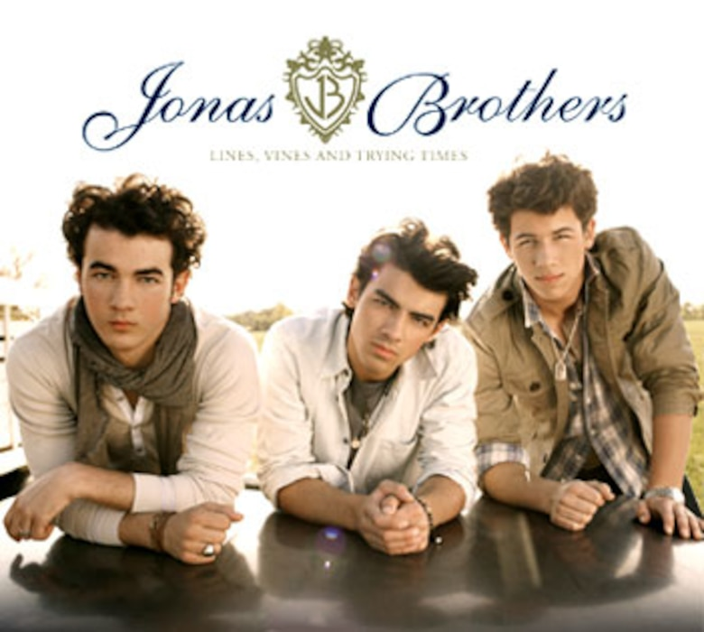 Jonas Brothers, Vines, Lines and Trying Times (album cover)
