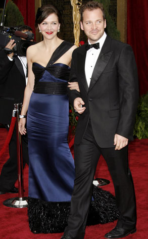 Maggie Gyllenhaal with husband Peter Sarsgaard