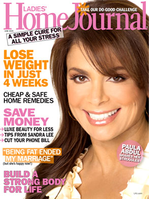 Paula Abdul, Ladies Home Journal Cover