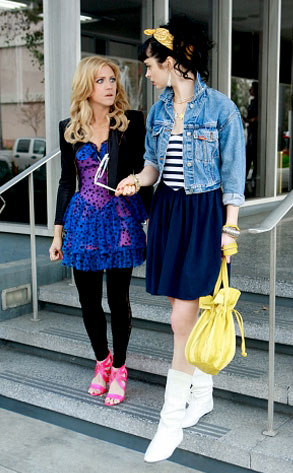 Gossip Girl, Brittany Snow, Krysten Ritter