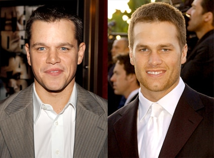 Matt Damon, Tom Brady