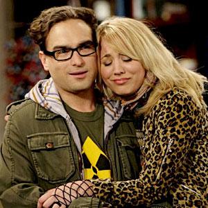 Big Bang Theory, Johnny Galecki, Kaley Cuoco