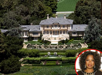 Oprah Winfrey's Montecito Home