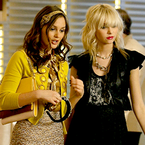 Gossip Girl, Leighton Meester, Taylor Momsen