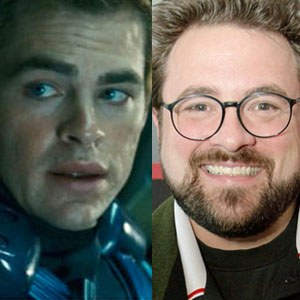 Kevin Smith, Chris Pine, Star Trek