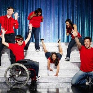 Glee, Chris Colfer, Amber Riley, Lea Michele, Jenna Ushkowitz, Cory Monteith, Kevin McHale