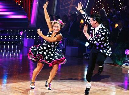 Shawn Johnson, Mark Ballas, Dancing with Stars