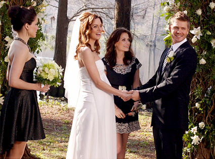 One Tree Hill Sophia Bush Joy Galeotti Chad Michael Murray Hilarie Burton
