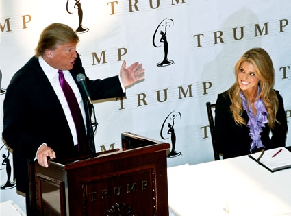 Donald Trump, Carrie Prejean
