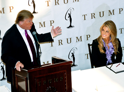 Donald Trump, Carrie Prejean
