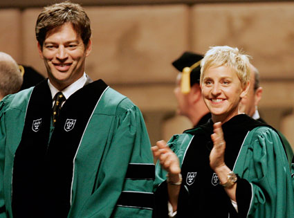 Ellen Degeneres, Harry Connick Jr.