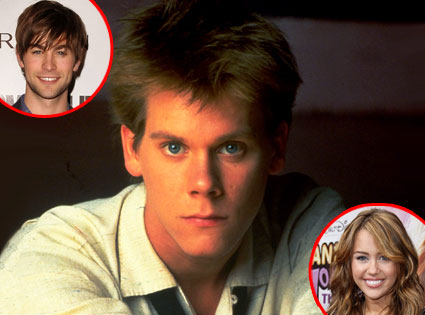 Kevin Bacon, Chace Crawford, Miley Cyrus