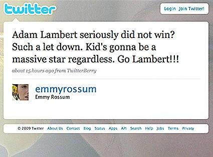 Emmy Rossum Twitter Page