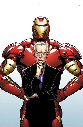 Tim Gunn, Iron Man, Marvel Comic