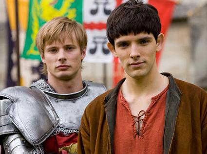 Bradley James & Colin Morgan, Merlin (NBC) from Summer TV ...