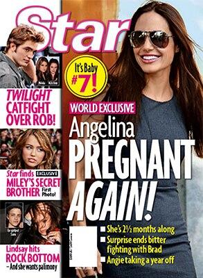 Angelina Jolie Star Magazine Cover