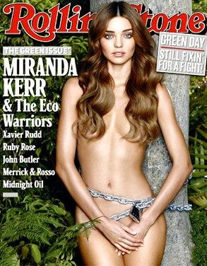 Miranda Kerr, Rolling Stone Magazine