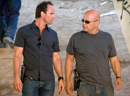 Walton Goggins, Michael Chicklis, The Shield