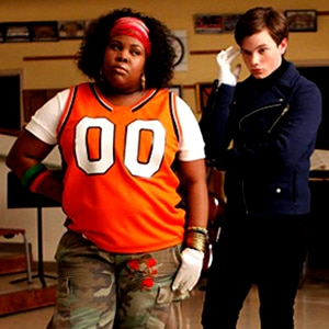 Chris Colfer, Amber Riley, Glee