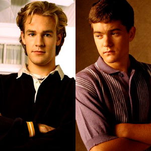 James Van Der Beek, Joshua Jackson, Dawson's Creek