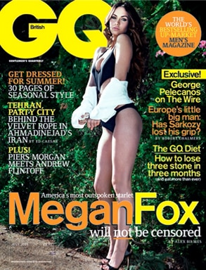 Megan Fox, GQ Magazine (UK)