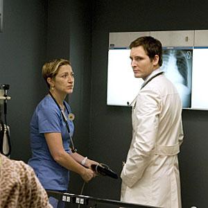 Nurse Jackie, Edie Falco, Peter Facinelli