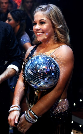 Shawn Johnson, Dancing with the Stars