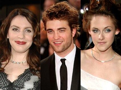 Stephenie Meyer, Robert Pattinson, Kristen Stewart