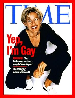 Ellen DeGeneres, Time Magazine