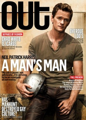 Neil Patrick Harris, Out Magazine