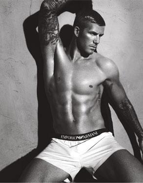 David Beckham, Emporio Armani Ad
