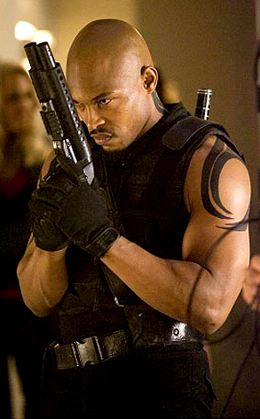 Kirk Sticky Fingaz Jones As Blade Blade The Series From