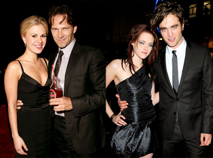 Anna Paquin, Stephen Moyer, Kristen Stewart, Robert Pattinson