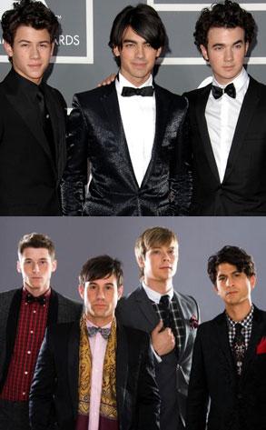 The Jonas Brothers,Nick Jonas, Joe Jonas, Kevin Jonas  Honor Society