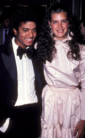 Michael Jackson, Brooke Shields
