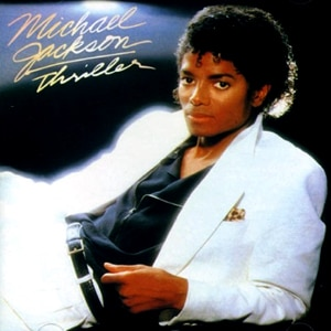Michael Jackson, Thriller (album cover)