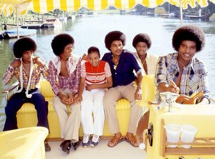 Janet Jackson, Michael Jackson, Tito Jackson, Jermaine Jackson, Marlon Jackson, Jackie Jackson