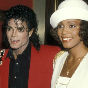 Michael Jackson, Whitney Houston