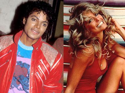Michael Jackson, Farrah Fawcett